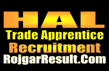 HAL Trade Apprentice Recruitment 2020