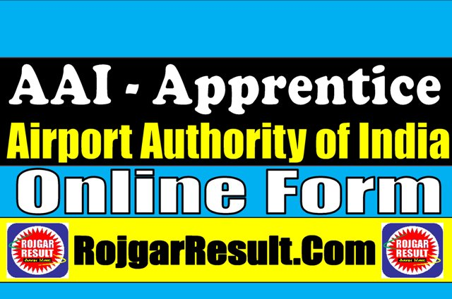 Airport Authority of India Degree Diploma ITI Apprentice 2021 Apply Online Form