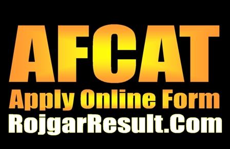 AFCAT 2020 Apply Online Form