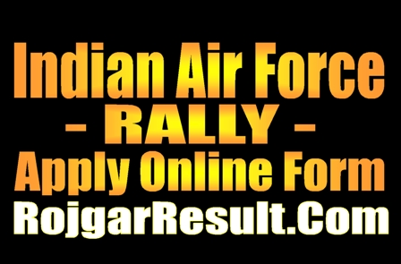 Indian Air Force Airmen Rally Recruitment 2020