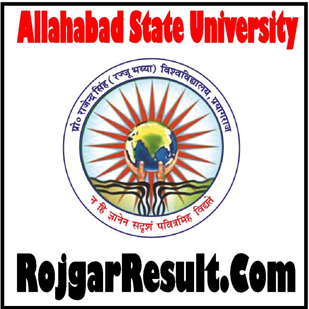 Allahabad State University Result 2020