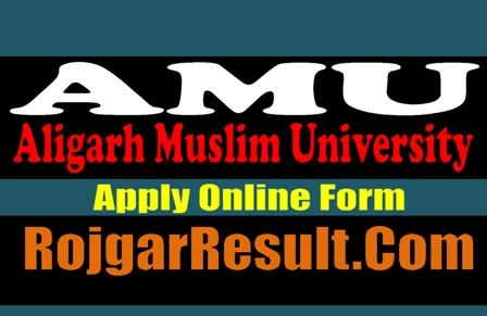 Aligarh Muslim University AMU Admission 2021 Online Form