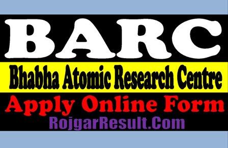 Bhabha Atomic Research Centre Recruitment 2020