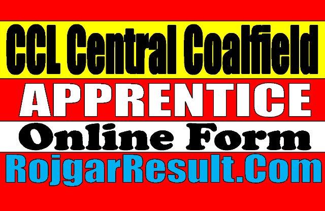 Central Coalfield CCL Apprentice Online Form 2020