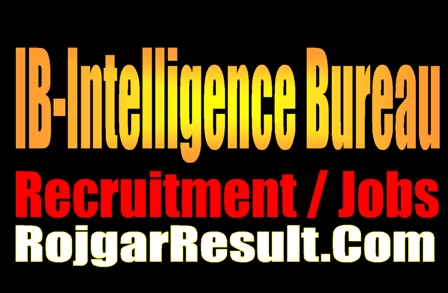 IB Intelligence Bureau ACIO Grade II 2021 Apply Online Form