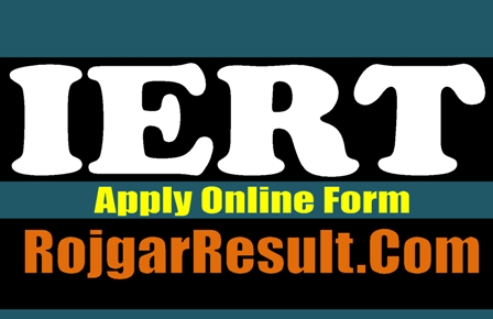 Institute Of Engineering And Rural Technology IERT 2021 Online Form