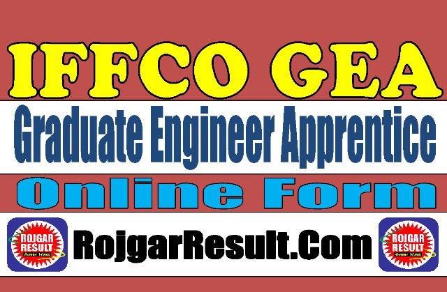 IFFCO Graduate Engineer Apprentice GEA Recruitment 2020