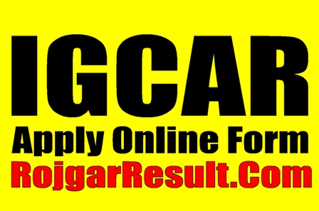 IGCAR Recruitment 2021 Apply Online Form