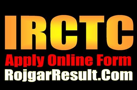 IRCTC Computer Operator 2021 Apply Online Form