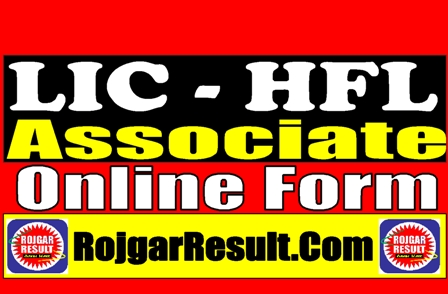 LIC HFL CSR Associate 2021 Apply Online Form