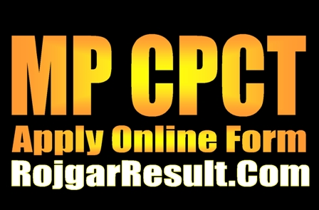 MP CPCT 2020 Apply Online Form