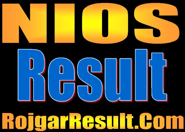 NIOS Board Result 2020 for 10th 12th