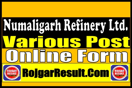 NRL GETs and Assistant Officers Recruitment 2021 Online Form