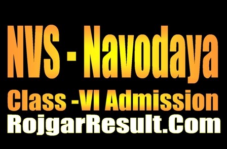 Jawahar Navodaya Class VI 2020 Apply Online Form