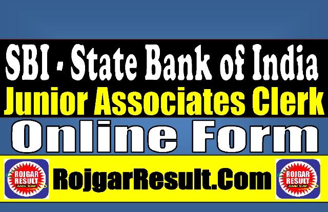 State Bank of India SBI Junior Associates Recruitment 2021 Online Form