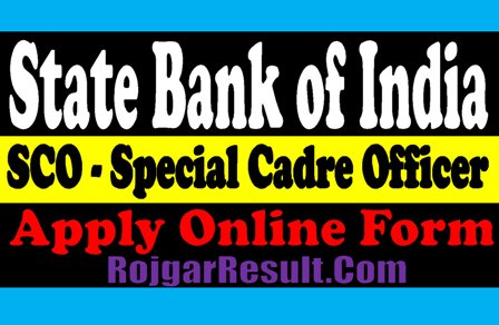 State Bank of India SBI SCO Recruitment 2020 Admit Card