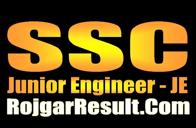 SSC Junior Engineer JE 2020 Apply Online Form