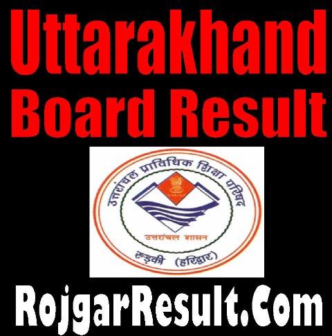 Uttarakhand Board Result 2020